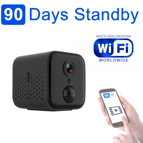 3 Months Standby Time Photo Trap WiFi Camera with PIR sensor Night Vision Video can watch