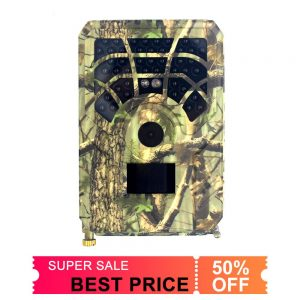 50 OFF Hunting Trail Video Camera Photo Trap 5MP Wildlife Night Vision 120 Degree Scouting Game