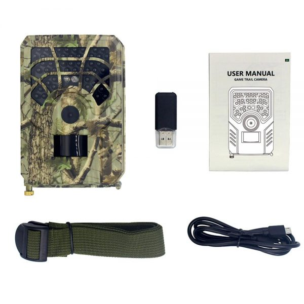 50 OFF Hunting Trail Video Camera Photo Trap 5MP Wildlife Night Vision 120 Degree Scouting Game 5