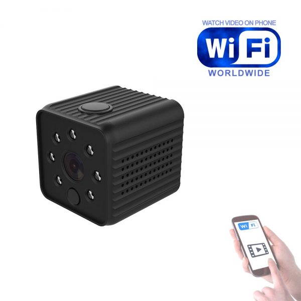 706 WiFi IP Camera Home Security Wireless Mini Camcorder HD 1080P DVR IR Automatic Night Vision