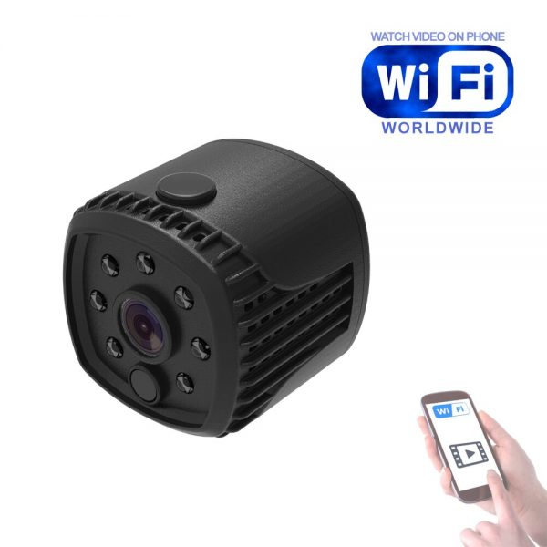 709 WiFi IP Camera Home Security Wireless Mini Camcorder HD 1080P DVR IR Automatic Night Vision