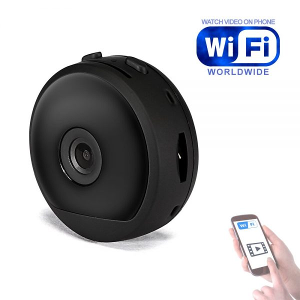 A19 WiFi IP Camera Home Security Wireless Mini Camcorder HD 1080P DVR IR Automatic Night Vision