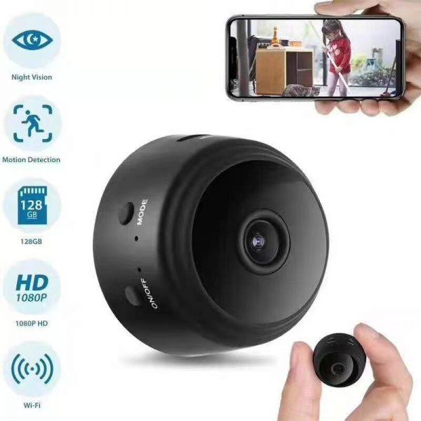 A9 Mini WiFi PIR Camera Night Vision 1080P Wireless Remote Monitor Phone App Motion Detection DVR 1