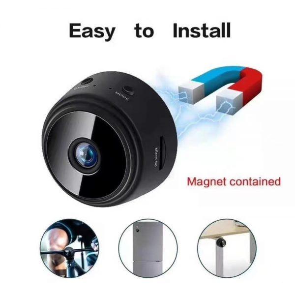 A9 Mini WiFi PIR Camera Night Vision 1080P Wireless Remote Monitor Phone App Motion Detection DVR 2