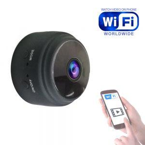 A9 Mini WiFi PIR Camera Night Vision 1080P Wireless Remote Monitor Phone App Motion Detection DVR