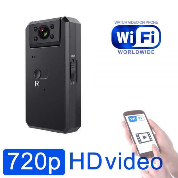 Beautifull Camera with Rotable Lens IR Night Vision Motion Detection and WiFi Video can watch in