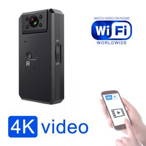 Best 4K Camera with Rotable Lens IR Night Vision Motion Detection and WiFi Video can watch 1