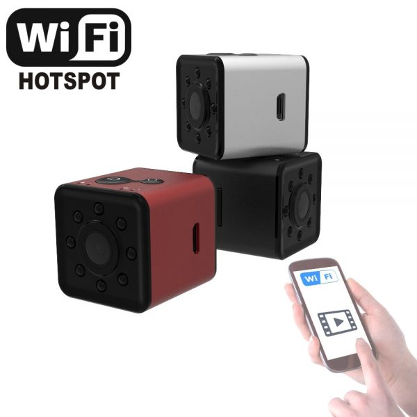 Cute AF Mini Sport Camera with Motion Detection Night Vision and Waterproof case Video can watch 1