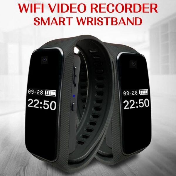 Fitness Bracelet Camera 1080p Full HD Smart Wristband with WiFi Video can watch in phone APP 1