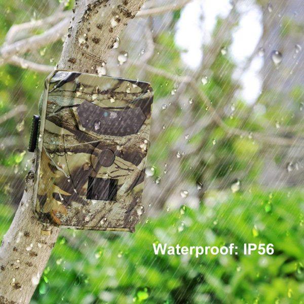 PR 100 HD 1080p Hunting Camera Photo Trap 12MP Wildlife Trail Night Vision 120 Degree Trail 3