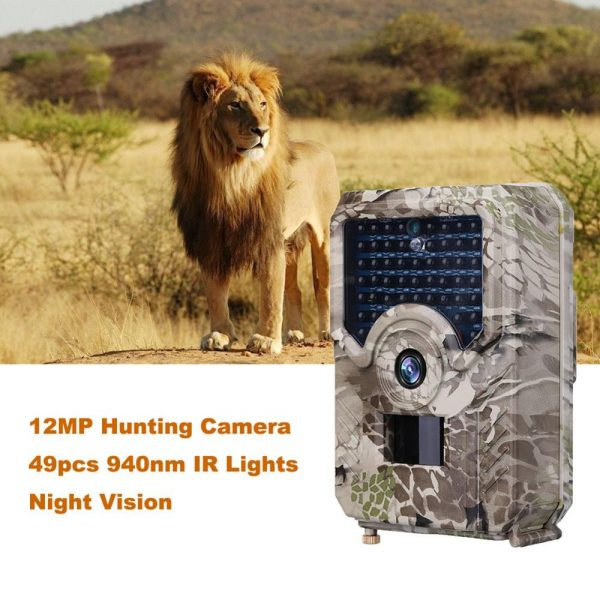 PR 200 HD 1080p Hunting Camera Photo Trap 12MP Wildlife Trail Night Vision 120 Degree Trail 2
