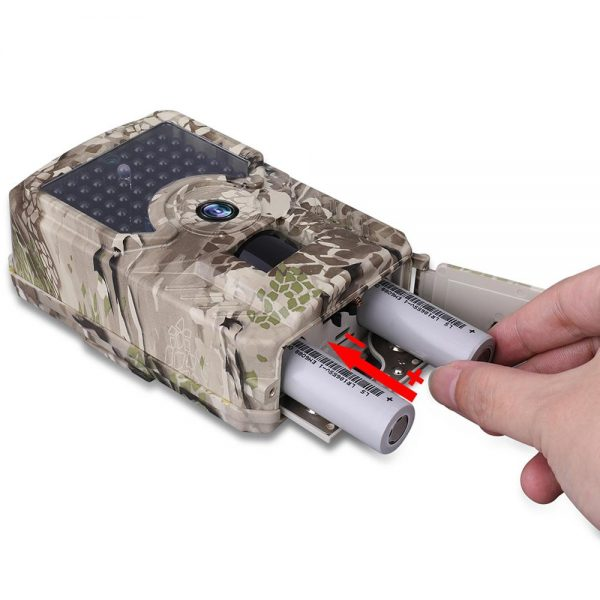 PR 200 HD 1080p Hunting Camera Photo Trap 12MP Wildlife Trail Night Vision 120 Degree Trail 5