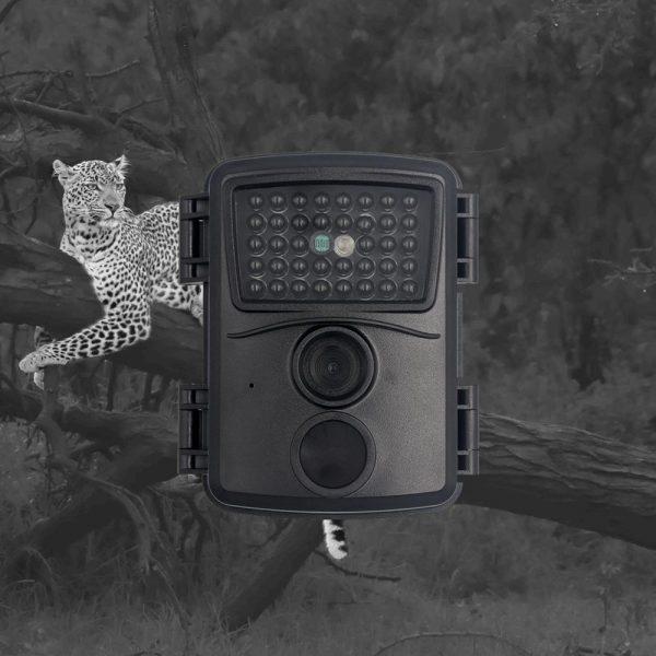 PR600B Black Hunting Camera 1080p Night Vision 940nm Infrared LED Trail Camera Outdoor Wildlife Camera Scouting