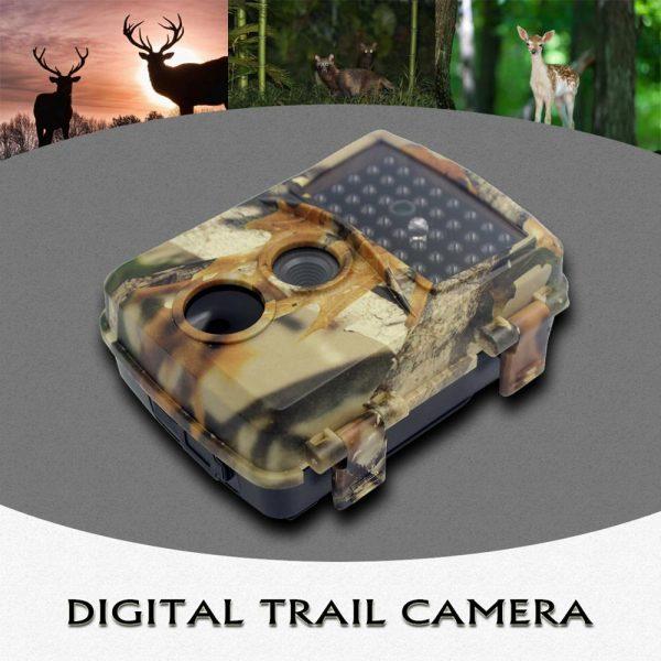 PR600C Autum Camo Hunting Camera 1080p Night Vision 940nm Infrared LED Trail Camera Outdoor Wildlife Camera 1