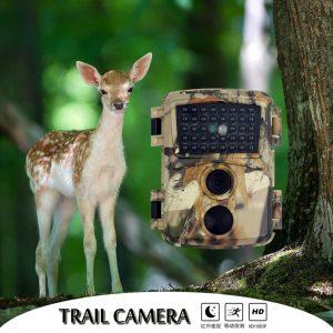 PR600C Autum Camo Hunting Camera 1080p Night Vision 940nm Infrared LED Trail Camera Outdoor Wildlife Camera