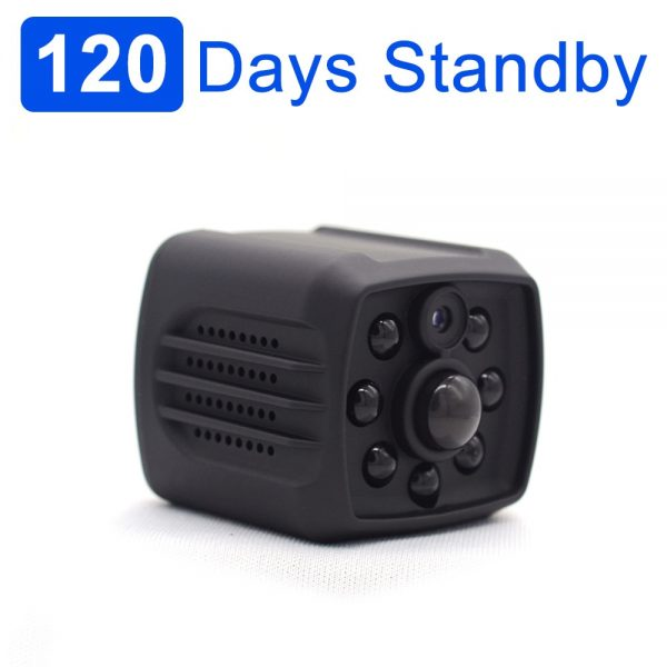 Practical 120 Days Standby Photo Trap Mini Camcorder with Night Vision and PIR Motion Detection sensor
