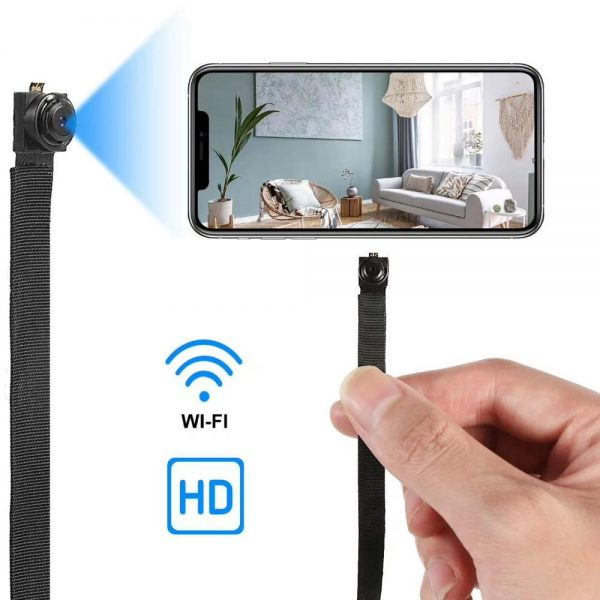 Practical WiFi IP Camera with Long Flexible Lens Motion detection and Passive Night Vision DIY instal 1