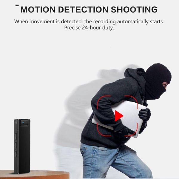Rotable Lens Camera with Night Vision Video or Voice record switch and WiFi Video can watch 4