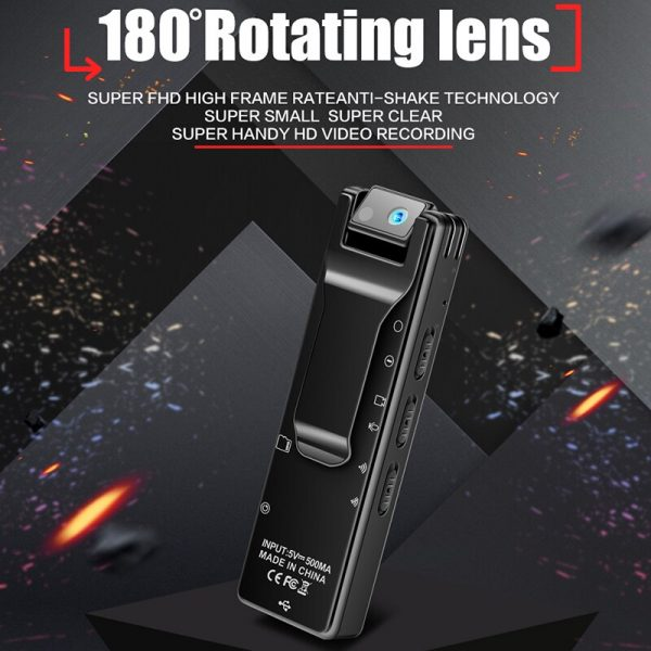 Rotable Lens Camera with Night Vision Video or Voice record switch and WiFi Video can watch 5