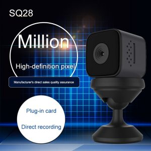 SQ 28 Cute AF Mini Sport Camera with Motion Detection Night Vision Video Resolution 1080p Full