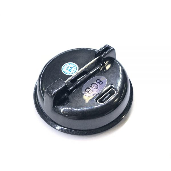 Safety Pin Voice Recorder Professional HD Noise Reduction HiFi MP3 Player Digital Audio Recorder 68H Long 4