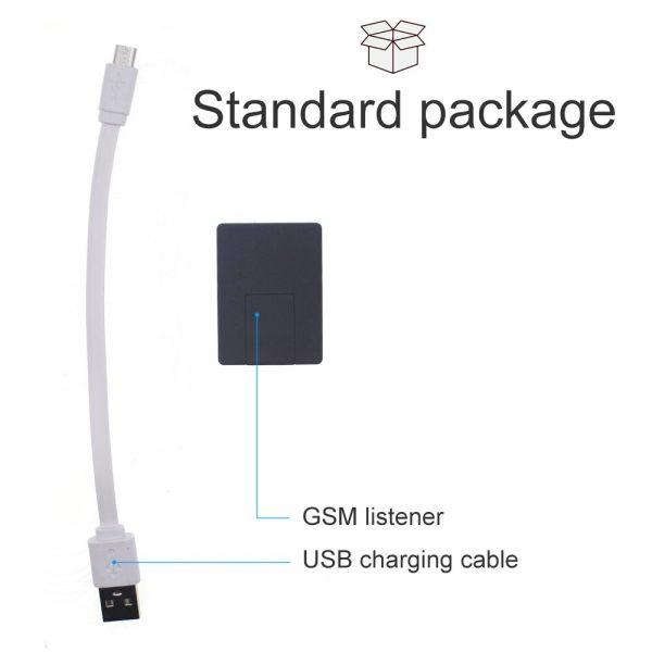 Voice Activate Security Alarm N9 Mini GSM Audio Listener with VOX Latest Version Model 2020 Audio 4