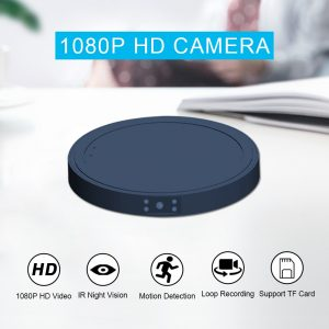 Wireless Charger Mini Camera MD19A for iPhone Samsung Huawei Xiaomi Phone HD 1080P Night Vision Motion