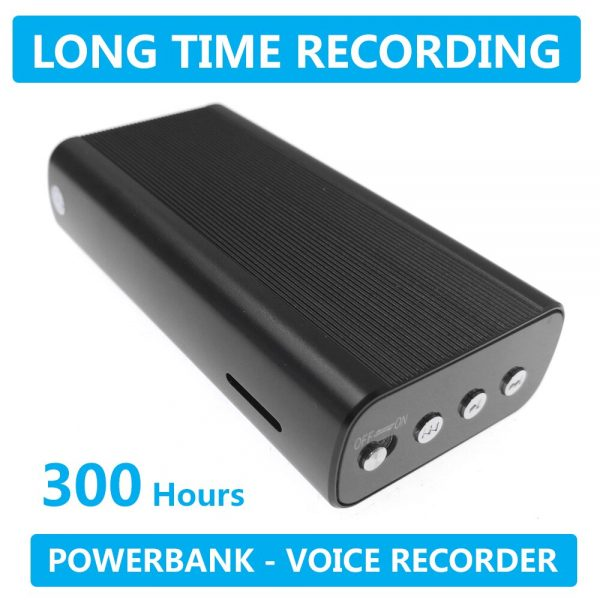 300 Hours Long Time Recording Digital Voice Recorder Upgrade 2021 Device Audio Recorder In Powerbank