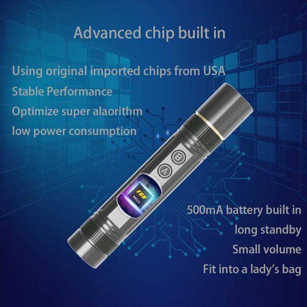 Anti spy Mini Pen Detector Multi function RF Lens Magnet Camera GSM Audio Bug Finder GPS 2