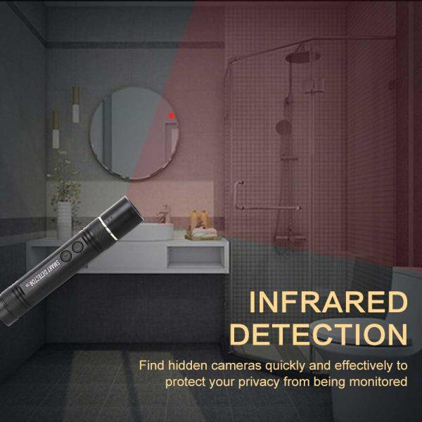 Anti spy Mini Pen Detector Multi function RF Lens Magnet Camera GSM Audio Bug Finder GPS 3