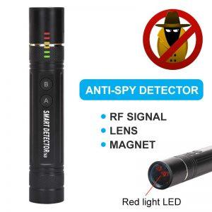 Anti spy Mini Pen Detector Multi function RF Lens Magnet Camera GSM Audio Bug Finder GPS