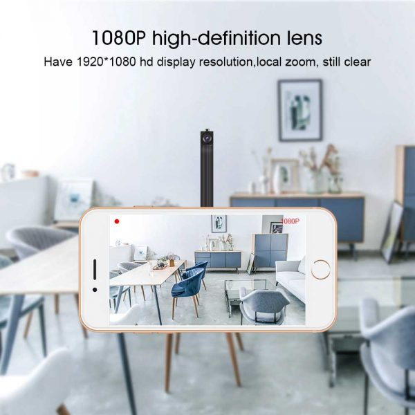 Beautiful WiFi IP Camera Module With Long Flexible Lens Battery And Motion Detection 2