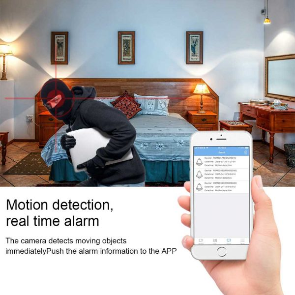 Beautiful WiFi IP Camera Module With Long Flexible Lens Battery And Motion Detection 3