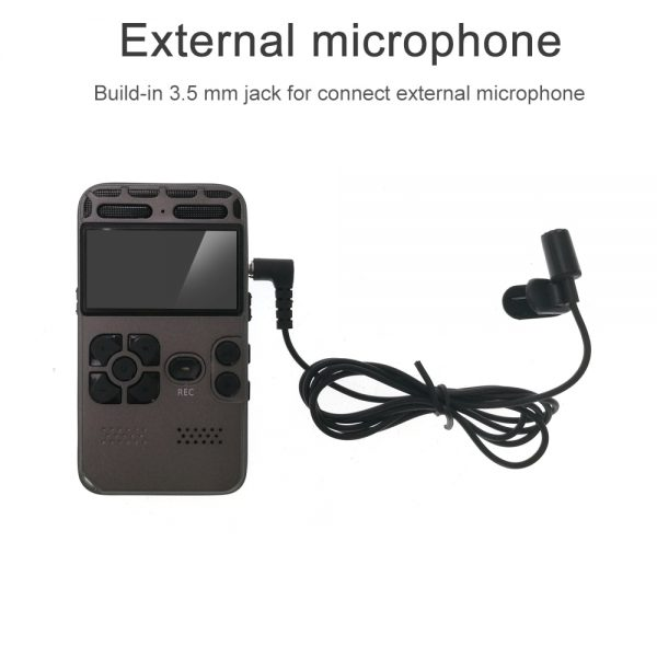 Digital Voice Recorder Upgrade 2021 For Meetings Noise Reduction Voice Activated Recording Device Audio Recorder Multi 3