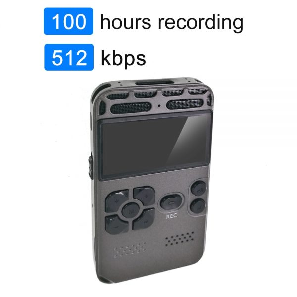 Digital Voice Recorder Upgrade 2021 For Meetings Noise Reduction Voice Activated Recording Device Audio Recorder Multi