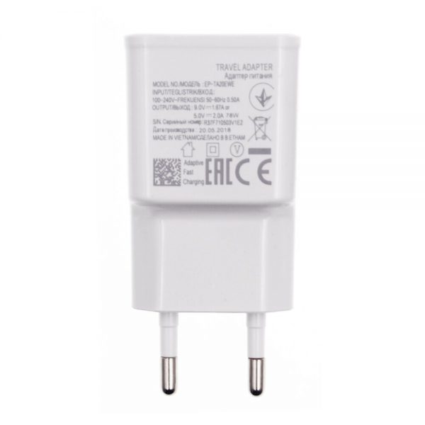 Fast Charger 5V 2A Power Travel Adaptor Safe and Good Certified USB Phone Quick Charging 2000mA 1