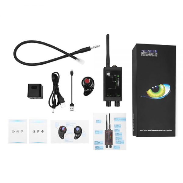 Hidden Camera Audio Bug And Magnet GPS Tracker Detector Set Anti Candid Anti Eavesdropping M8000 4