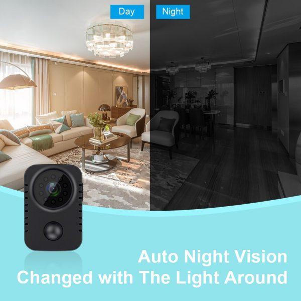 MD29 90 Days Standby Time PIR Motion Detection 1080P HD Mini Camera IR Night Vision Photo 2