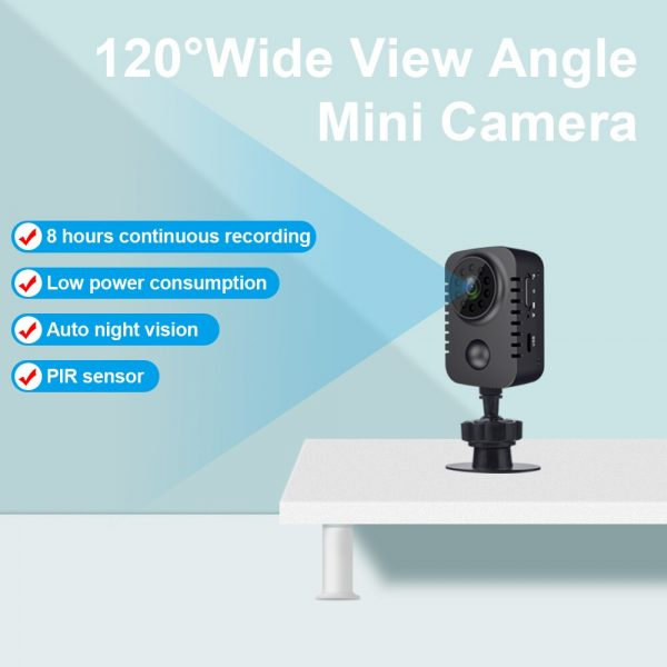 MD29 90 Days Standby Time PIR Motion Detection 1080P HD Mini Camera IR Night Vision Photo 3