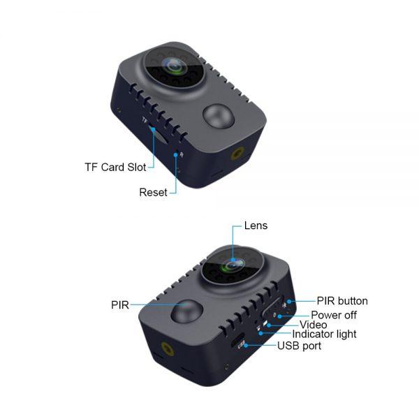 MD29 90 Days Standby Time PIR Motion Detection 1080P HD Mini Camera IR Night Vision Photo 4