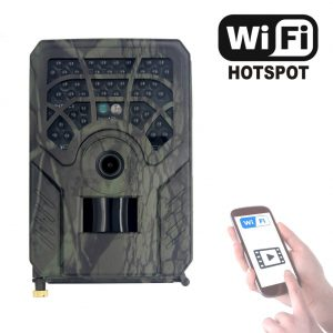 PR 300C WiFi HD 1080p Hunting Camera Photo Trap 5MP Wildlife Trail Night Vision 120 Degree