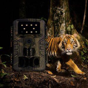PR 700 HD 1080p Hunting Camera Photo Trap 20MP Waterproof IP66 Wildlife Trail Night Vision Video