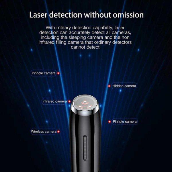 Portable Wireless Signal Detector T8 Hidden Pinhole Camera GPS Position Mini Bug Detection Pen Anti Wiretap 4