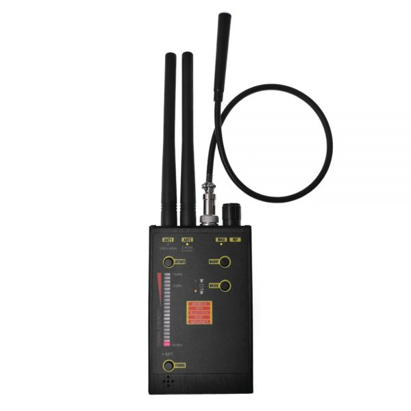 Professional Spy Hidden Camera Detector Audio Bug Detector Anti Candid Anti Eavesdropping Magnet GPS Tracker