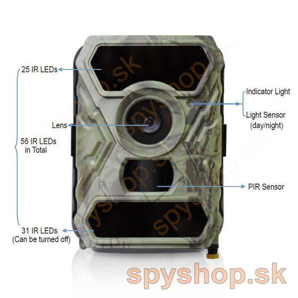 Trail Hunting Camera 12MP 1080P HD 5