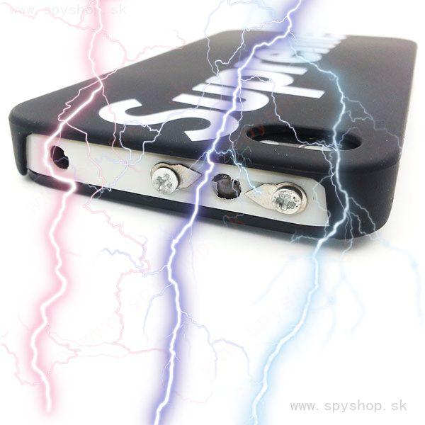 elektricky taser v tvare mobilu 3a