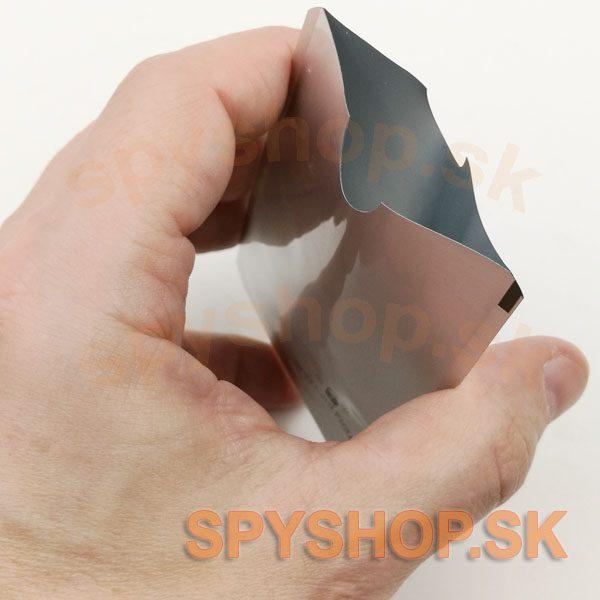 ochranný obal na kartu ID 93x64 3