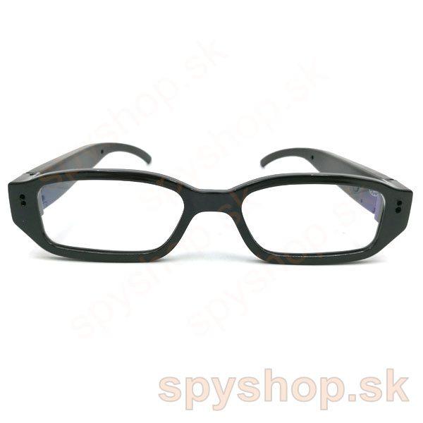 77ea6d7f2 Spy Shop - Okuliare DVR dioptrické, objektív na ľavo s dierkou